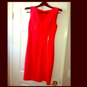 Womens Orange Ivanka Trump dress size 4