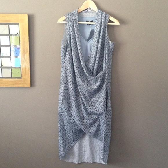 Scarf Print Wrap Dressnwt