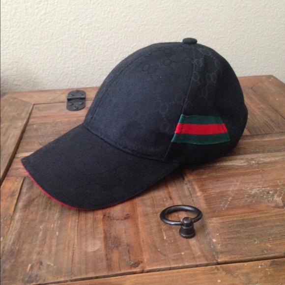 Gucci Accessories - New! Very Nice Black Gucci Cap 332095c12a7