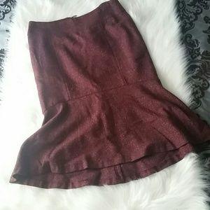 H&M Wool-like Flare Skirt