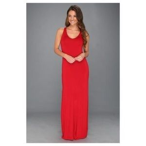 Dresses & Skirts - Red Stretchty Maxi Dress