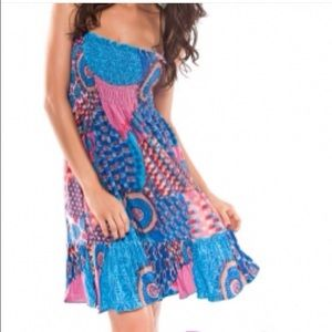 Dresses & Skirts - Colorful tube top dress