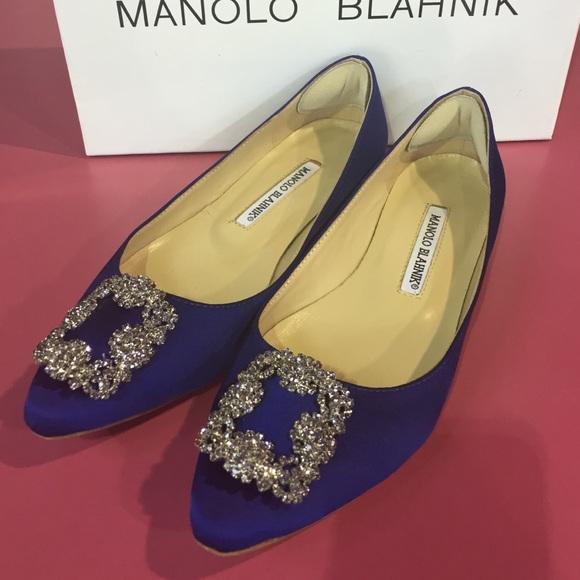 4813c1325 Malono Blahnik Jewel Embellished Flats 36. M 553fe7454e674810d6002935