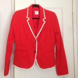 GAP vibrant red blazer! EXCELLENT condition!! ❤️❤️