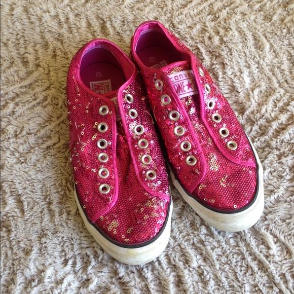 b282a4a5c5d ... australia converse converse converse sequin pink hot convers shoes  poshmark rwborr 85955 e6ec7 ...
