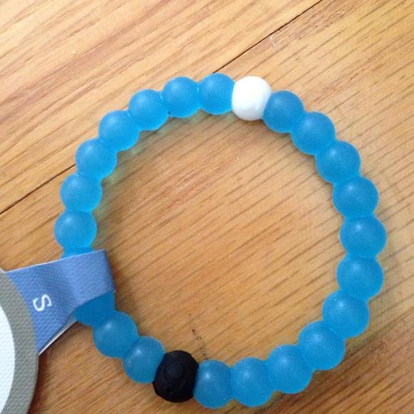Lokai blue lokai bracelet small from aanna s closet on