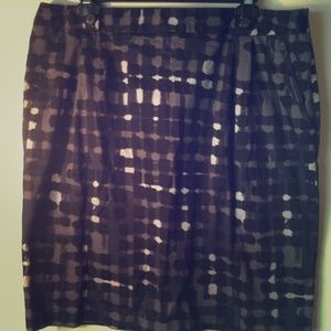 Black and grey blotted skirt!!