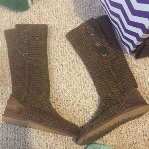 Brown UGG Cardy Boots