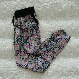 Printed Tribal Pants