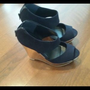 Navy Wedges SOLD!!!