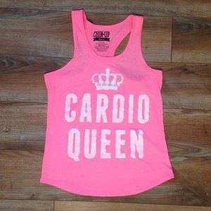 Bubblegum Pink Workout Muscle Tank Top