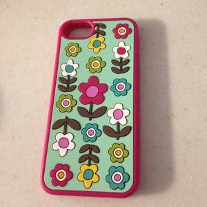 Vera Bradley Jelly Flower Case iPhone 5