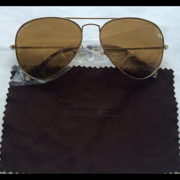667361db91 Michael Kors Jet Set Aviator Sunglasses