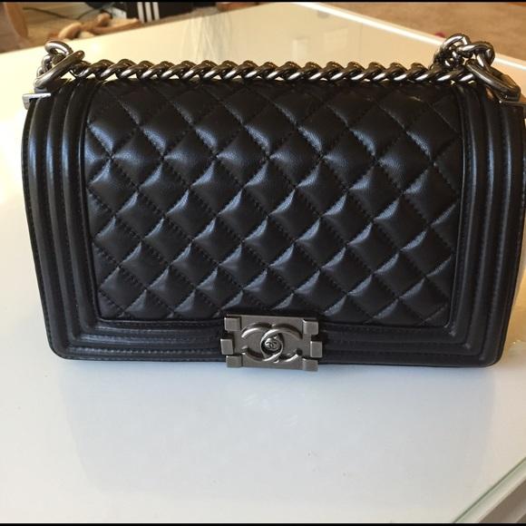 340a2279e757 CHANEL Bags | Le Boy Silver Hardware | Poshmark