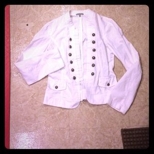 White Charlotte Russe jacket