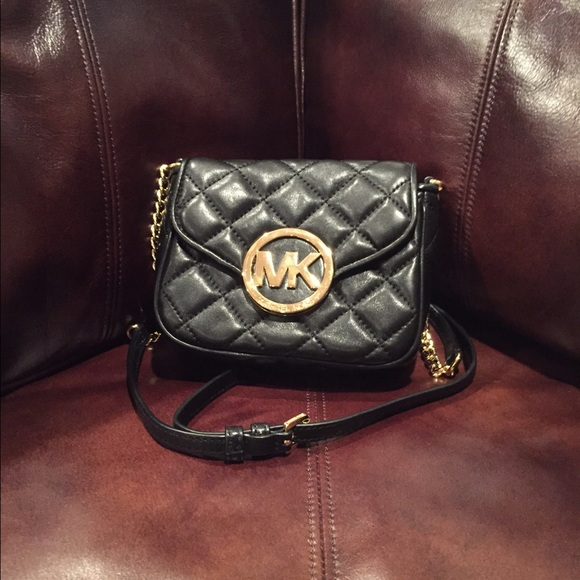 6a3db7e12fee Michael kors fulton small quilted crossbody. M 55405d162599fe116f0043b9