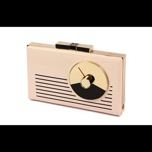 NWT KATE SPADE Radio Tower Samira Clutch