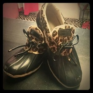 Sperry top sider rain shoes