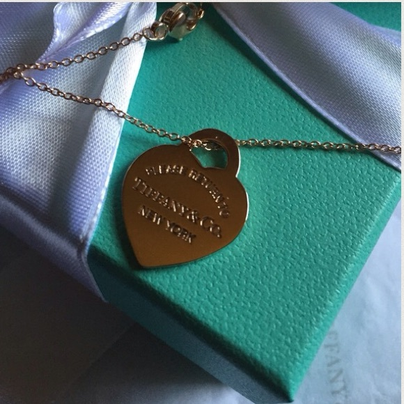 2563c35dd Tiffany & Co. Jewelry | Brand New Tco Return To Tiffany Heart Tag ...