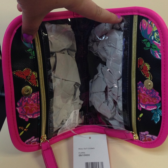 59% off Betsey Johnson Accessories - Betsey Johnson Makeup Bag ...