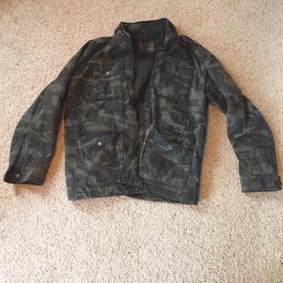 e30e956b01837 Levi's Jackets & Coats | Camo Levi Jean Jacket | Poshmark