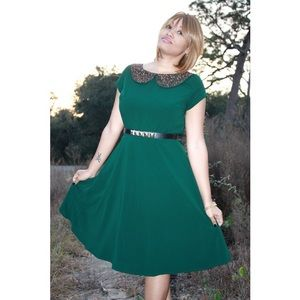 🌟Green Custom Dress!🌟