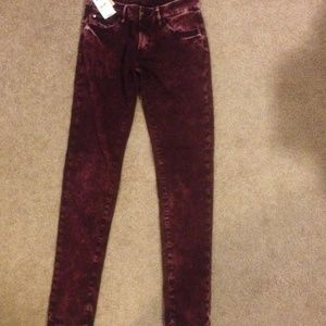 NWT Ralph Lauren denim and supply skinny jeans