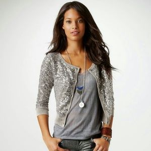 American Eagle Outfitters Jackets & Blazers - Sequins jacket