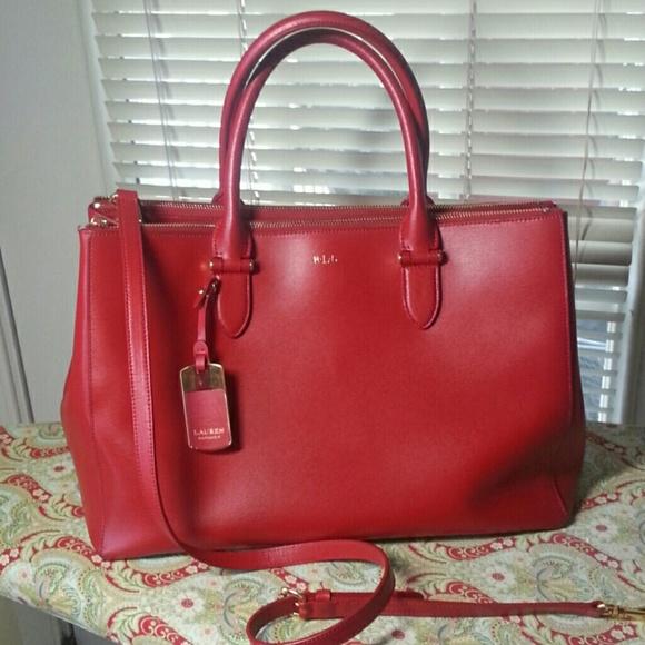 Ralph Lauren newbury zip satchel. REDUCED again. M 55415bf88f0fc41f8b00004f cada0625ab