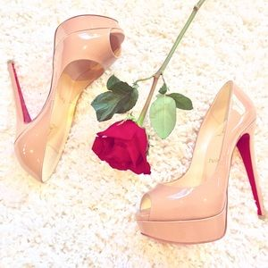 Christian Louboutin Lady Peep Toe