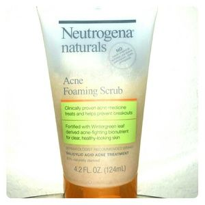 Acne Foaming Scrub