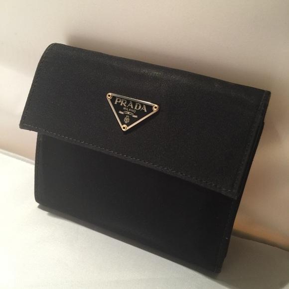 Black Nylon Wallet 76