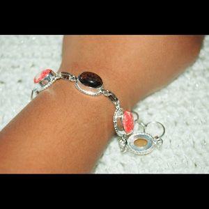 "handmade & handcrafted gemstone jewelry Jewelry - ✂️SALE✂️Multi-Color Statement Bracelet 7 1/2"""