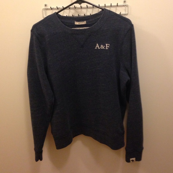 Abercrombie \u0026 Fitch Sweaters , Abercrombie \u0026 Fitch blue muscle sweater
