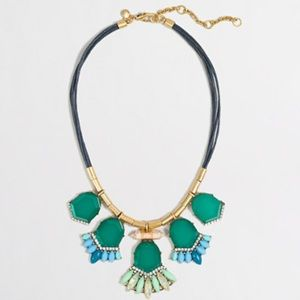 J.crew Mixed Media Chord Necklace
