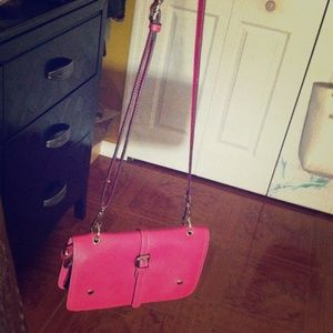 Pink Crossbody/Clutch