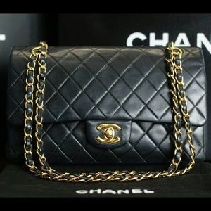 Chanel double flap lambskin