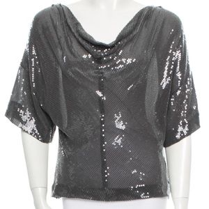 Robert Rodriguez sequin top