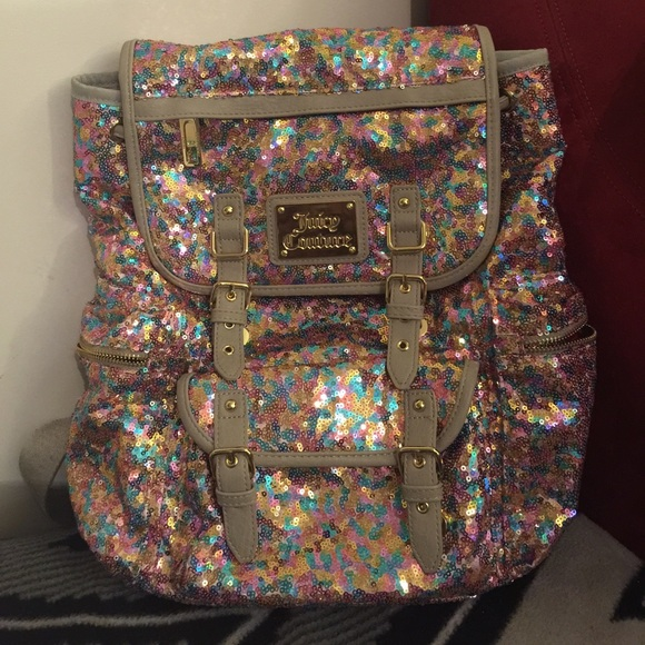 57% off Juicy Couture Handbags - Juicy Couture sequin backpack ...