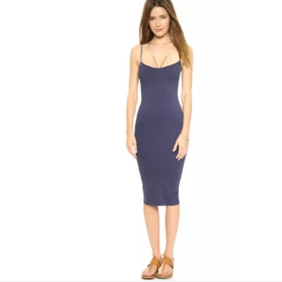 40859bb828d4 Free People Dresses | Seamless Tea Length Slip Dress | Poshmark