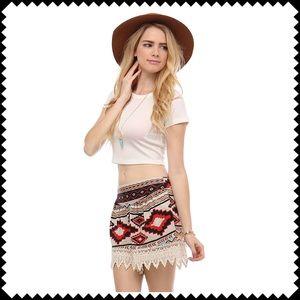 Cloud 9 Dresses & Skirts - 🆕Totally Boho Shorts NEW