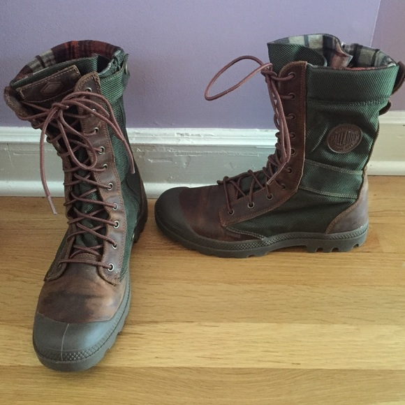 62% off Palladium Boots - NWOT Palladium Hiking Combat Boots from