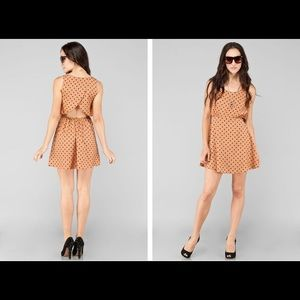 Super Cute Polka dot dress