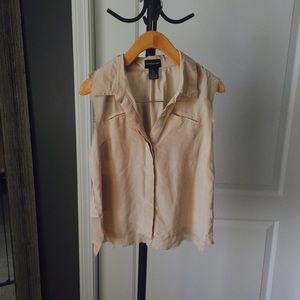 Central Park West  Tops - Silk ruffled blouse