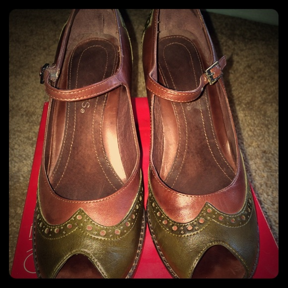 Aerosoles Red Mary Jane Shoes