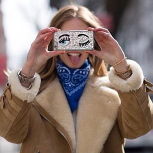 Chiara Ferragni Flirting glitter iPhone