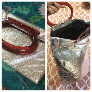 Silver / Lucite Vintage Clutch