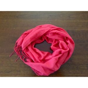 Accessories - Bright Pink Scarf
