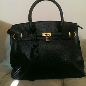 JustFab Handbags - Large birkin styled tote