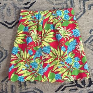 Vintage Lilly Pulitzer Scalloped Skirt